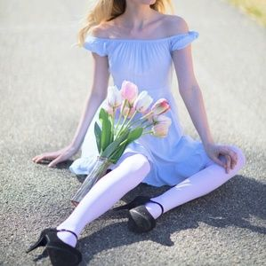 Alice in wonderland blue dress